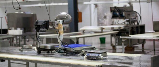Ηλεκτρονική Ζυγαριά σε Βιομηχανία